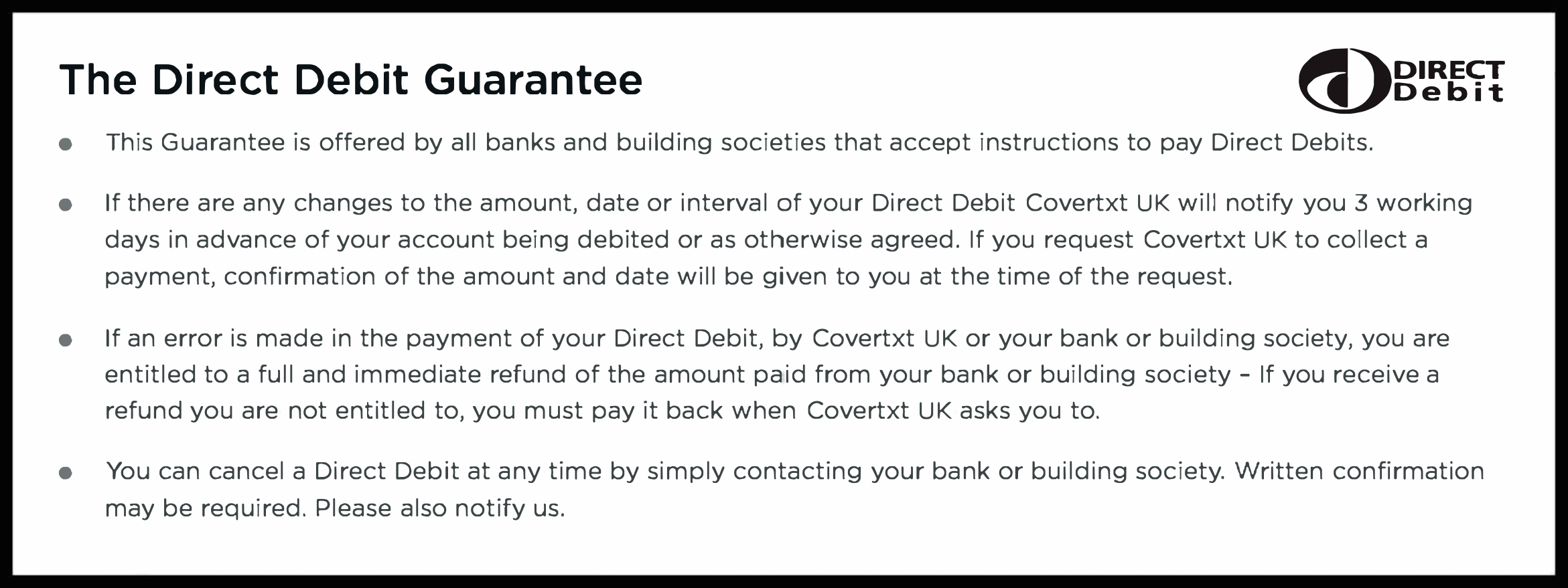 Direct Debit Image
