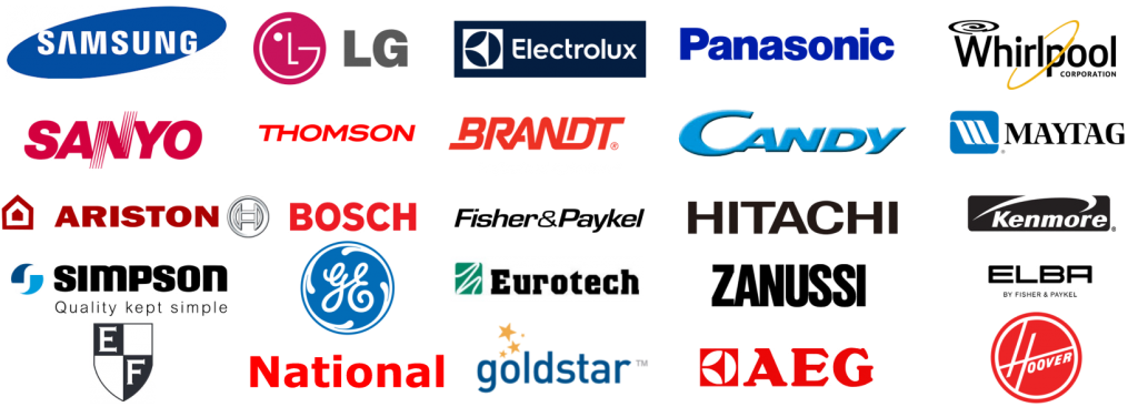 washing machine brands